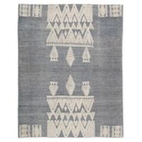 Jaipur Living Reign Tribal 5' x 8' Hand Knotted Area Rug in Blue/Ivory