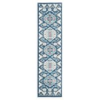 Safavieh Kazak Brendan 8' Runner in Blue