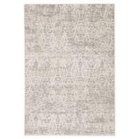 Jaipur Renee Geometric 8'10 x 12' Area Rug in Grey/Ivory