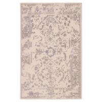 Jaipur Living Bethel Medallion 8'10 x 12' Hand Knotted Area Rug in Ivory/Grey