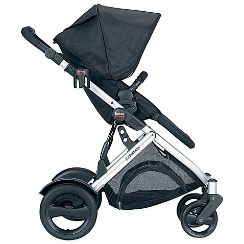 britax b ready modular stroller in black buybuy baby. Black Bedroom Furniture Sets. Home Design Ideas