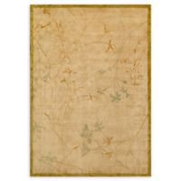 Pasargad Home™ One of a Kind Floral 5'5 x 8' Area Rug in Peach