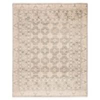 Jaipur Living Stage Border 6' x 9' Hand Knotted Area Rug in Ivory/Green