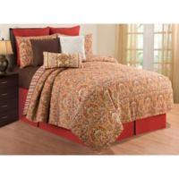 C&F Home™ Mirabelle Reversible Full/Queen Quilt Set in Orange