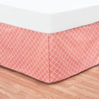 C&F Home™ Summer Twin Bed Skirt in Coral