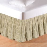 C&F Home™ Althea Twin Bed Skirt in Green