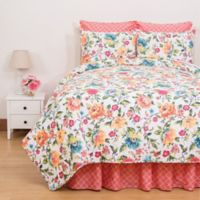 C&F Home™ Summer King Quilt Set in Coral