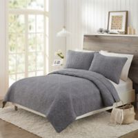Mary Jane's Home Darling Lace Full/Queen Coverlet in Grey