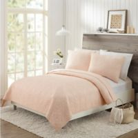 Mary Jane's Home Darling Lace Full/Queen Coverlet in Blush