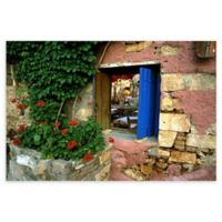 Christopher Knight Collection® Blue Shutters 18-Inch x 24-Inch Canvas Wall Art