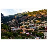 Christopher Knight Collection® Amalfi Mountain Hillside 18-Inch x 24-Inch Canvas Wall Art