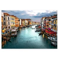 Christopher Knight Collection® Venice Canal 18-Inch x 24-Inch Canvas Wall Art