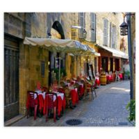 Bistro Alley 27-Inch x 36-Inch Canvas Wall Art