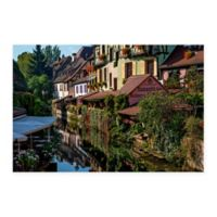 Christopher Knight Collection® Colmar France Canals 18-Inch x 24-Inch Canvas Wall Art
