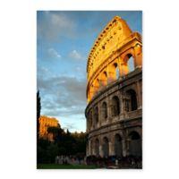 Roman Colosseum 18-Inch x 24-Inch Canvas Wall Art