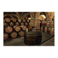 Wine is Good Napa 24-Inch x 18-Inch Canvas Wall Art