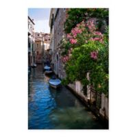 Venice Canal 18-Inch x 24-Inch Canvas Wall Art