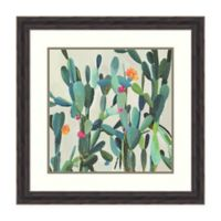 Amanti Art® Aimee Wilson Floral 27.38-Inch Square Acrylic Framed Print in White/green