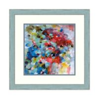 Amanti Art® Brent Foreman Abstract 22.25-Inch Square Acrylic Framed Print in Grey/blue
