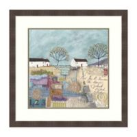 Amanti Art® Louise O'hara Landscape 28.25-Inch Square Acrylic Framed Print in Blue