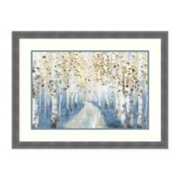 Amanti Art® Allison Pearce Landscape 32.25-Inch x 24.25-Inch Acrylic Framed Print in White/blue