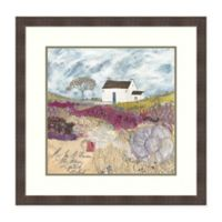 Amanti Art® Louise O'hara Landscape 28.25-Inch Square Acrylic Framed Print in White