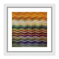 Amanti Art® Noah Abstract 29-Inch Square Acrylic Framed Print in Brown