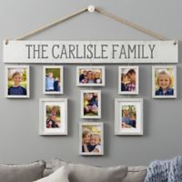 Wallverbs™ Our Family Personalized Hanging Picture Frame Set
