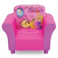 Delta Children Disney® Princess Upholstered Chair in Pink