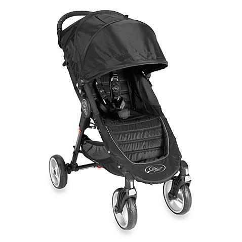 Baby Jogger City Mini Single 4 Wheel Stroller In Black