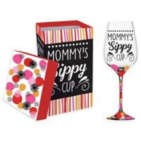 Evergreen Better Sippy Cup Wine Glass with Box (Set of 2)