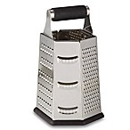 9-Inch Stainless Steel 6-Sided Roll Handle Grater