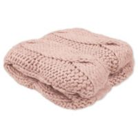 French Connection® Ella Throw Blanket in Blush