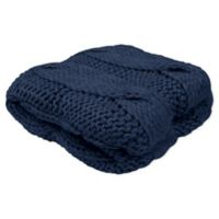 French Connection® Ella Throw Blanket in Navy