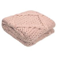 French Connection® Claire Throw Blanket in Blush