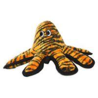 Tuffy® Mega Small Octopus Dog Toy in Orange