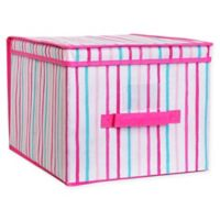 Laura Ashley® Kids Large Collapsible Storage Box in Pink