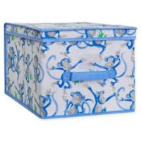Laura Ashley® Kids Large Collapsible Storage Box in Blue