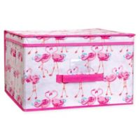 Laura Ashley® Kids Jumbo Collapsible Storage Box in Pink