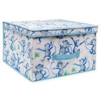 Laura Ashley® Kids Jumbo Collapsible Storage Box in Blue