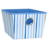 Laura Ashley® Kids Large Grommet Storage Tote in Blue
