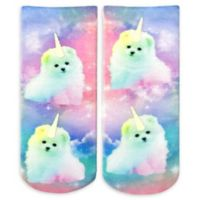 Living Royal 6-Piece Unicorn Puppy Ankle Socks