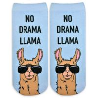 Living Royal 6-Piece No Drama Llama Ankle Socks