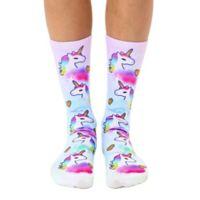 Living Royal 6-Piece Unicorn Crew Socks