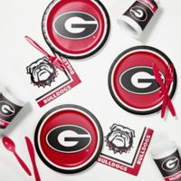 University of Georgia 60-Piece Tailgating Kit