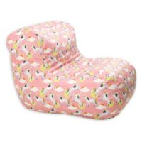 Wow Works™ Polyester Upholstered Unicorn Bean Bag Chair