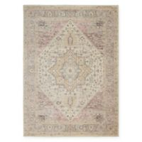 Nourison™ Tranquil 4' x 6' Area Rug in Ivory/Pink