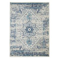 Nourison™ Tranquil 5'3 x 7'3 Area Rug in Ivory/Light Blue