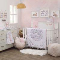 NoJo® Woodland Wreath 4-Piece Crib Bedding Set in Pink