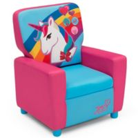 Delta Children Nickelodeon™ JoJo Siwa High Back Upholstered Chair in Pink
